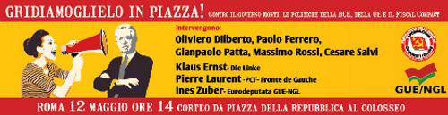 Il corteo partirà alle 14 da piazza della Repubblica, percorrerà via Cavour, Fori Imperiali e giungerà al Colosseo dal lato dell'arco di Costantino. Alle 16.45 avranno inizio gli interventi dei […]