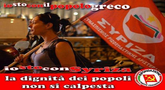 di Paolo Ferrero In Grecia vincono le forze che stanno distruggendo l'Europa con le politiche di austerità ed antisociali ma la sinistra avanza moltissimo e dice che larga parte del […]