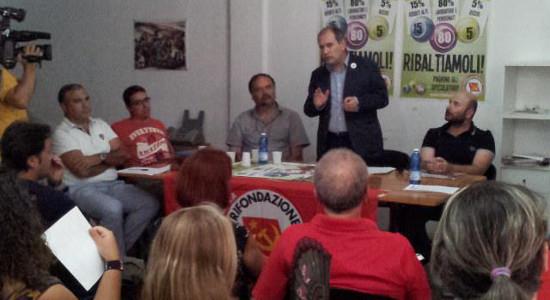 """""""Sosteniamo la lotta dei lavoratori che difendono il posto di lavoro. L'ordinanza è stata un positivo sasso nello stagno che ha obbligato tutti a muoversi e ha messo agli arresti […]"""