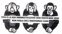Martedì 18 settembre 2012 a mezzogiorno circa, 5-6 dipendenti ATER, scortati da agenti in borghese e carabinieri (altre sette-otto persone) più 6 muratori, sono arrivati in via Di Vittorio n. […]