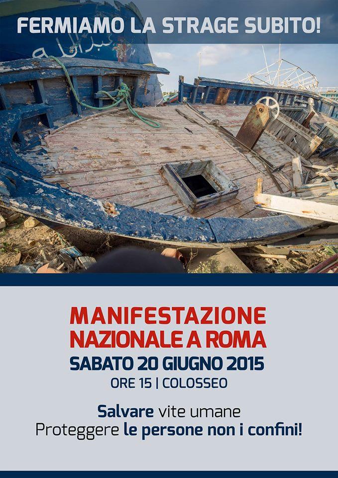 20 giugno Manifestazione nazionale a Roma