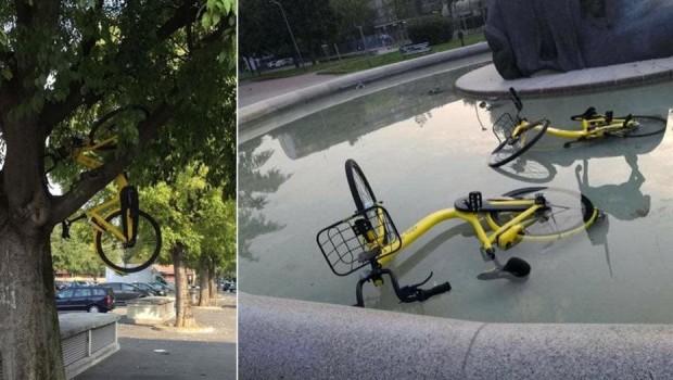 """Come previsto in tempi non sospetti da tutti gli esperti del settore, gli esperimenti di bike sharing """"free floating"""" (quelli in cui le bici si prendono e si lasciano dove […]"""