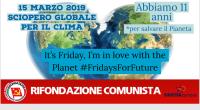 15 marzo 2019 Giornata mondiale di sciopero per il clima! La mappa di tutti gli eventi organizzati da Fridays For Future in tutto il mondo A Padova https://m.facebook.com/events/365932630916562/ Piazzale Stazione […]