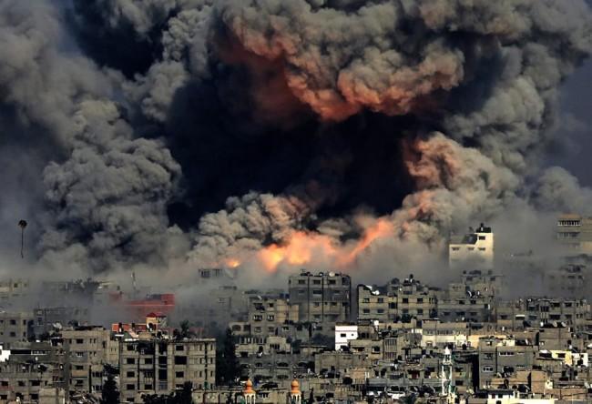 Gaza-Explosion
