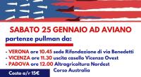 SABATO 25 GENNAIO 2019:tutt* ad #Aviano! Il #Friuli non è una rampa di lancio! Ecco tutte le partenze in pullman del Partito della Rifondazione Comunista – regionale #Veneto Per prenotare […]
