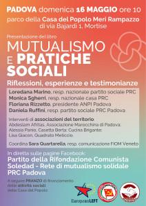 Locandina presentazione libro Mutualismo