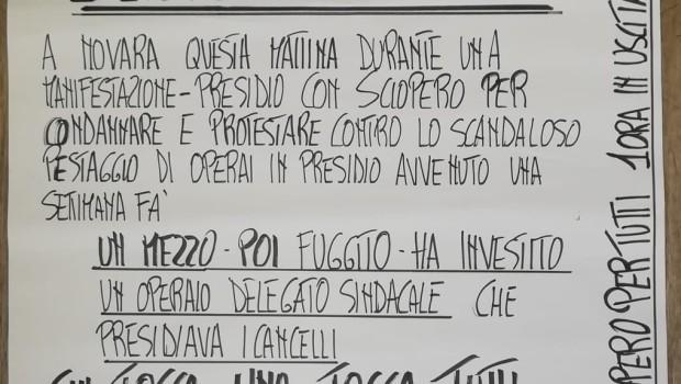 OGGI, ore 16.30, presidio di Adl cobas di fronte alla prefettura di Padova per sciopero nazionale logistica. Partecipiamo per rafforzare la mobilitazione e la risposta all'assassinio del sindacalista Sicobas, Adil […]