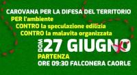 27 GIUGNO 2021 - CAROVANA PER LA DIFESA DEL TERRITORIO, DELL'AMBIENTE, CONTRO LE LOGICHE PREDATORIE DELLA SPECULAZIONE IMMOBILIARE, CONTRO LE INFILTRAZIONI DELLA MALAVITA ORGANIZZATA.  - 09.30 Partenza da Falconera […]