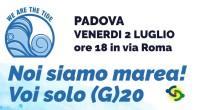 #PADOVAvenerdì 2 LUGLIO ore 18, volantinaggio della SOCIETÀ DELLA CURA – PADOVA davanti alla Banca d'Italia in via Roma.Dal 7 all'11 luglio 2021, Venezia ospiterà il G20 l'incontro dei ministri […]