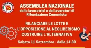 assemblea nazionale delle lavoratrici e dei lavoratori