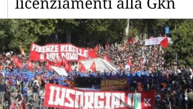 E' stata annullata la decisione della GKN di chiudere lo stabilimento di Campi Bisenzio e licenziare tutti i lavoratori. Il tribunale di Firenze ha accolto il ricorso della Fiom contro […]